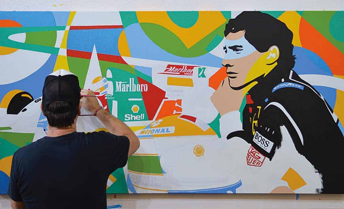 Arte Ayrton Senna