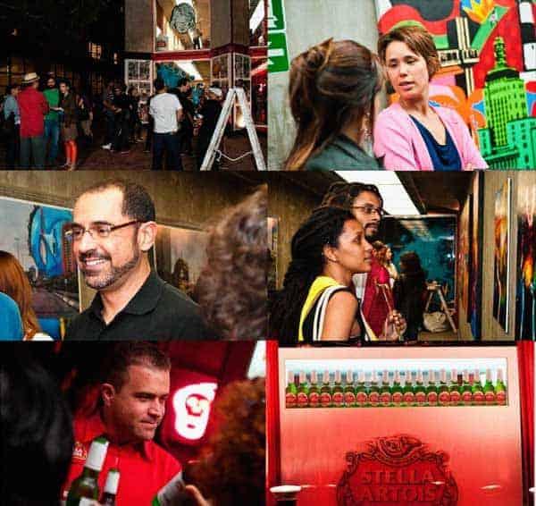 Artista Exposição Arte Urbana