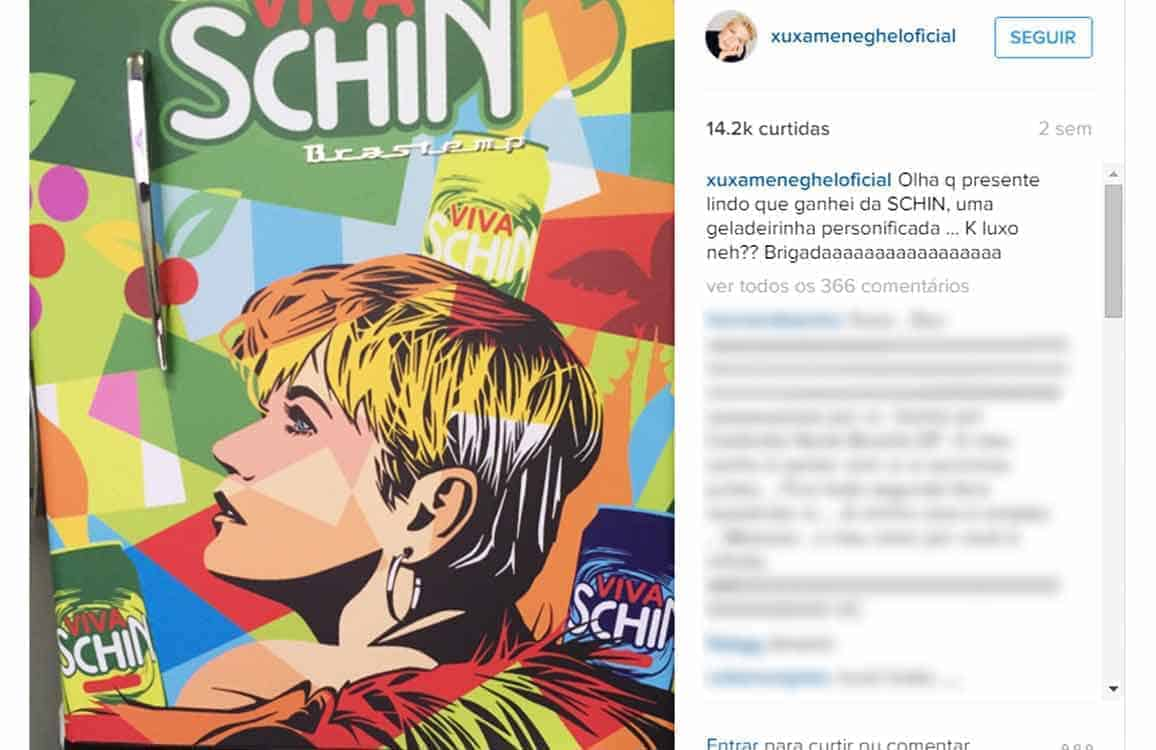 Instagram Xuxa