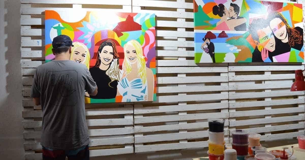 contato Artista Lobo Pop Art