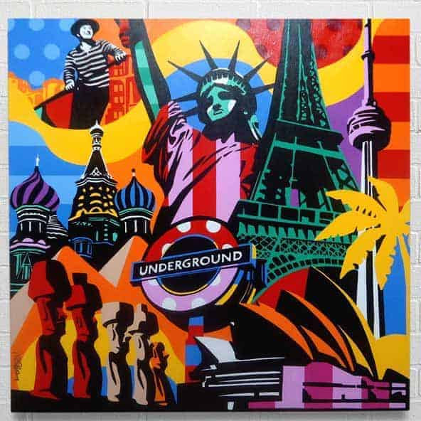 Artista Pop Art Brasil
