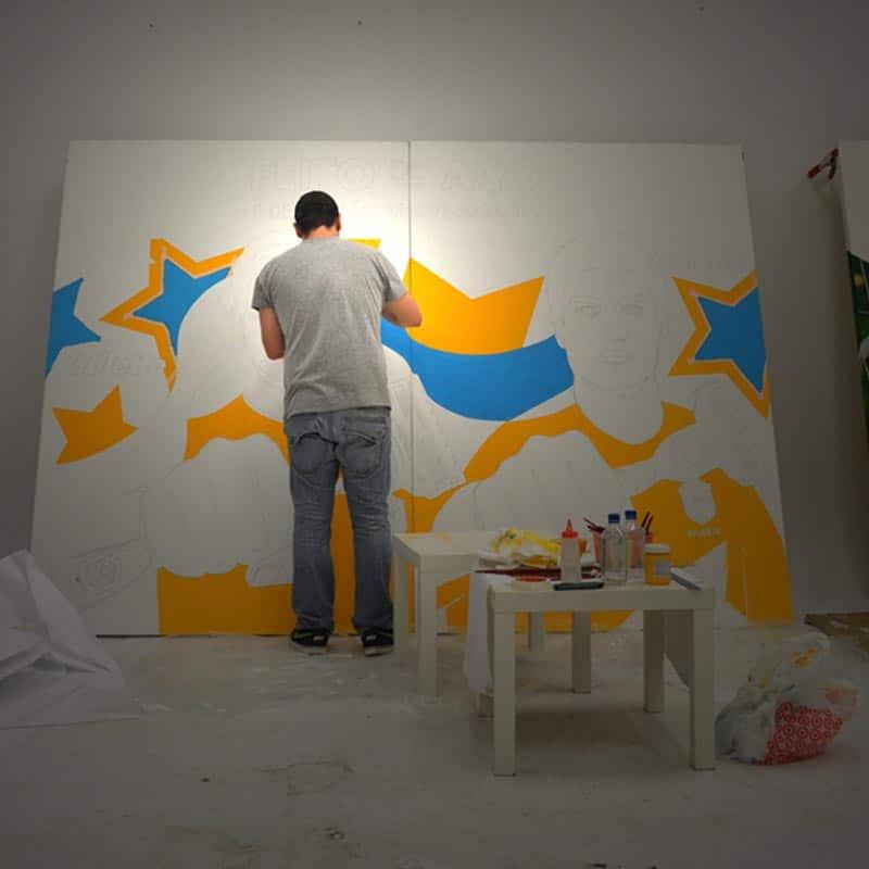Artista Lobo em Miami