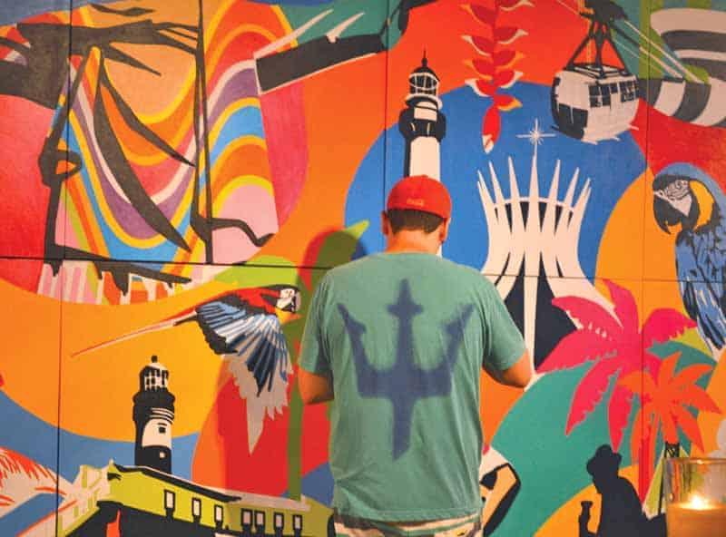 Artista plastico Brasileiro