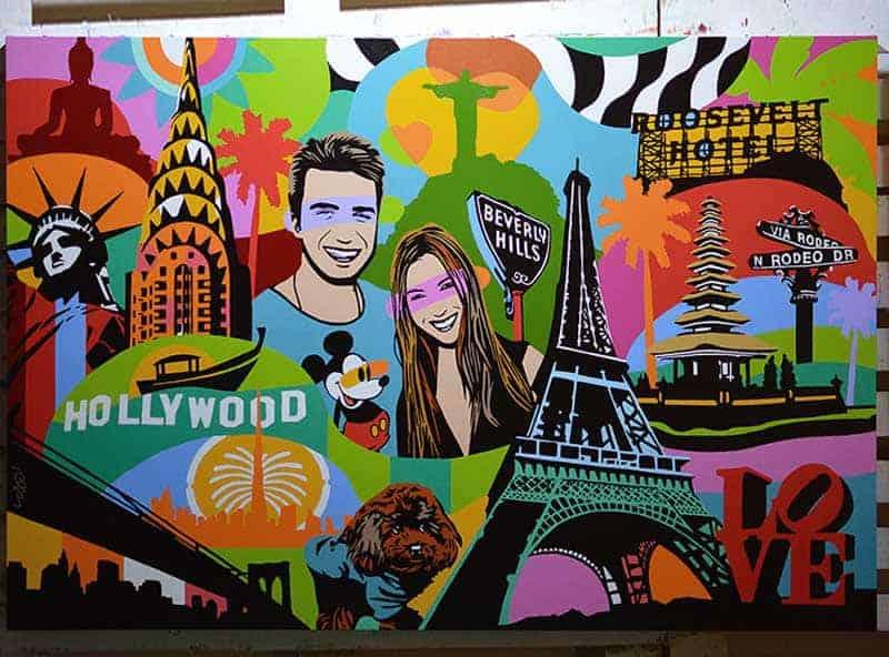 Artista Pop Art Brasileiro
