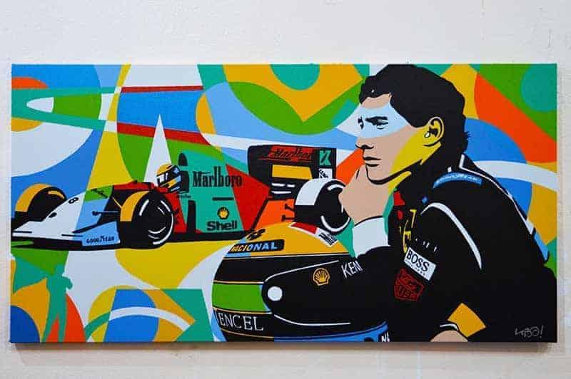 Ayrton Senna Arte