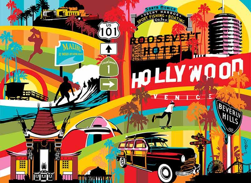 Los Angeles Arte