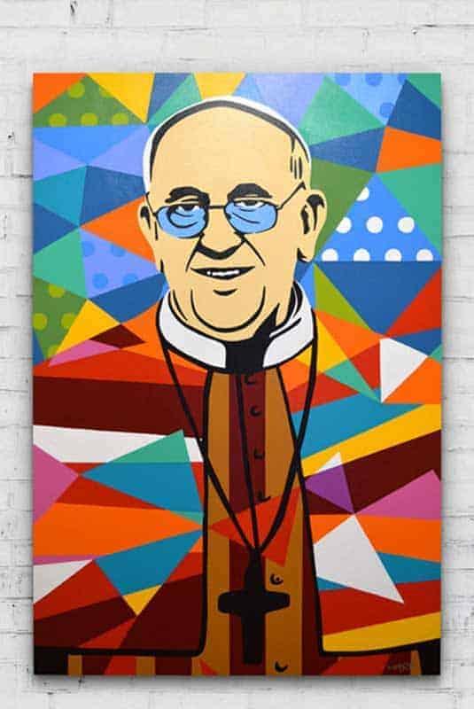 Papa Francisco Arte