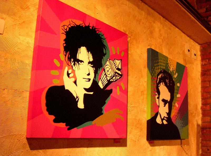 Quadro Antigo de Pop Art