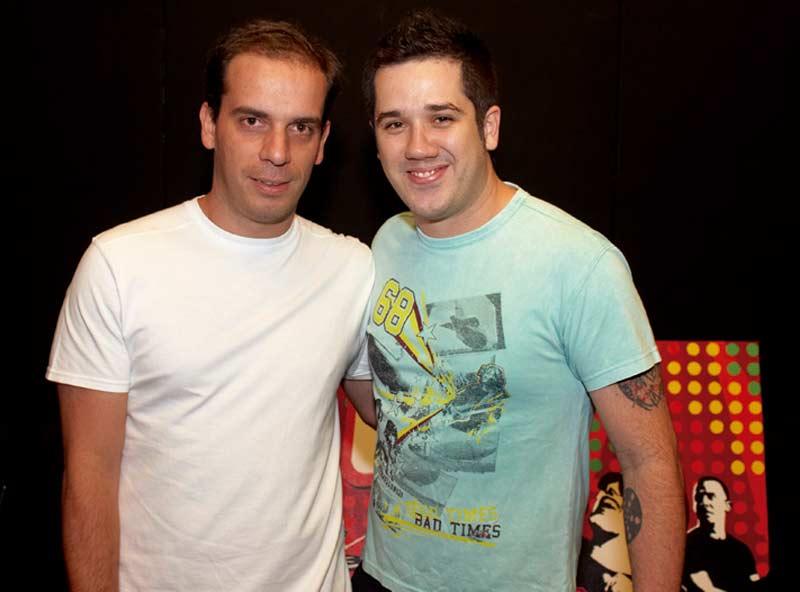 Rogerio Flausino e Lobo