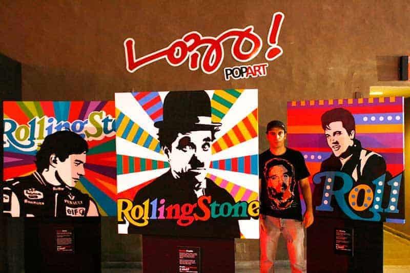 Rolling Stone e Lobo Pop Art