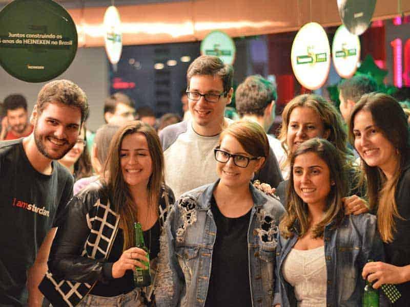 Festa 5 anos Heineken Brasil