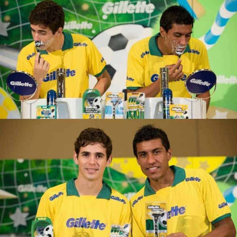 Paulinho e Oscar