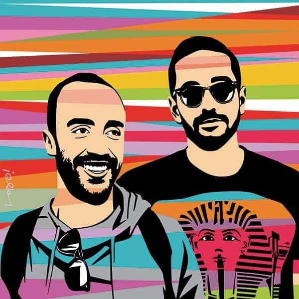 Yan Acioli e Fernando Bento