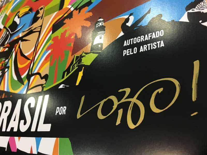 Assinatura Artista Pop Art