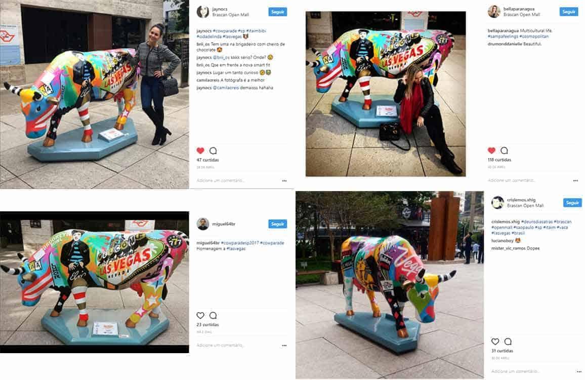 Instagram Cowparade Las Vegas