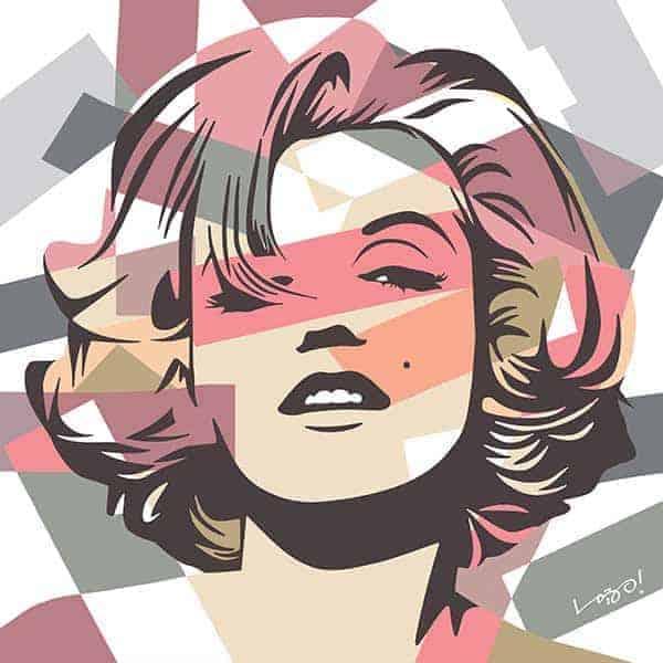 Marilyn Monroe Urban Arts