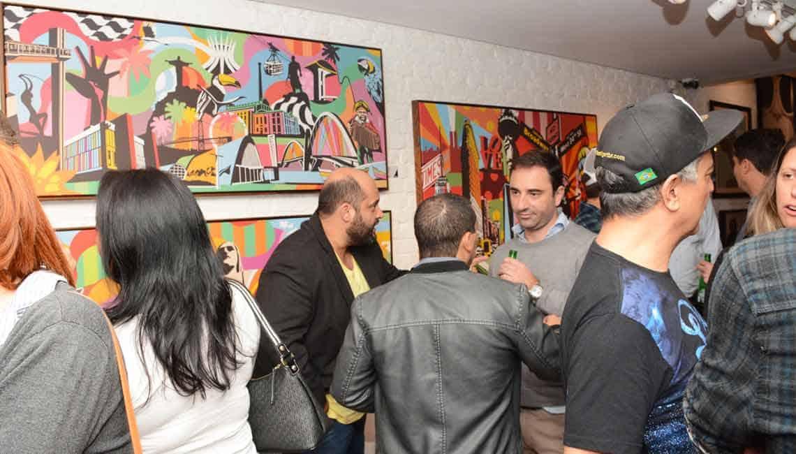 Exposição na Urban Arts