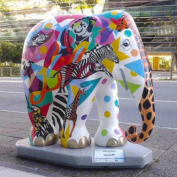 Elephant Parade Artista Lobo