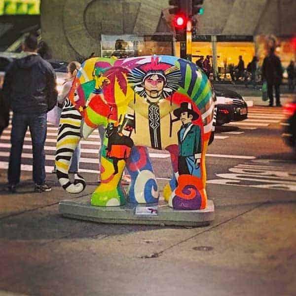 Elephant Parade Avenida Paulista