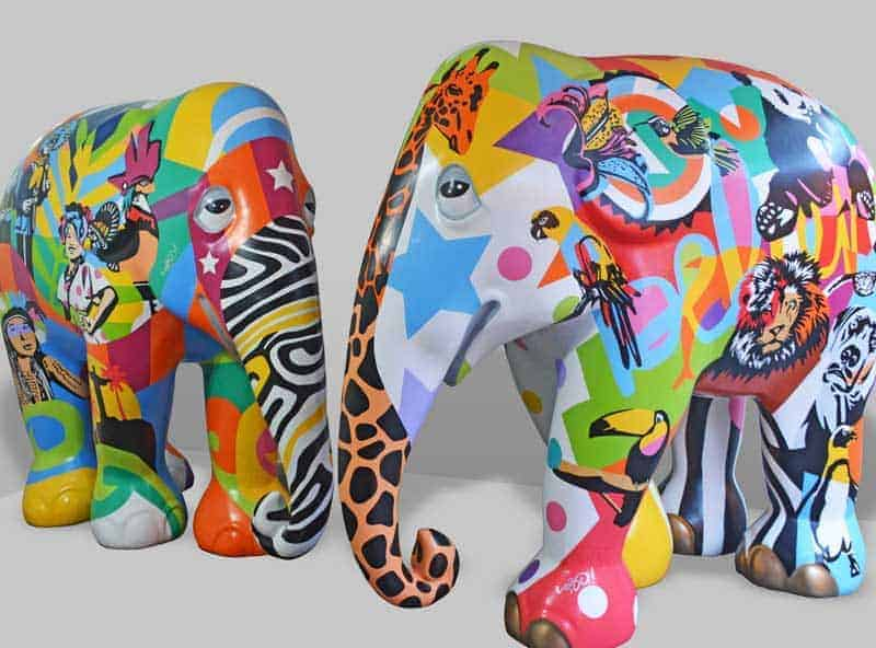 Elephant Parade Pop Art