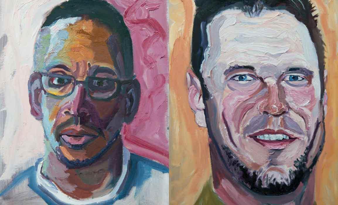 George W Bush arte