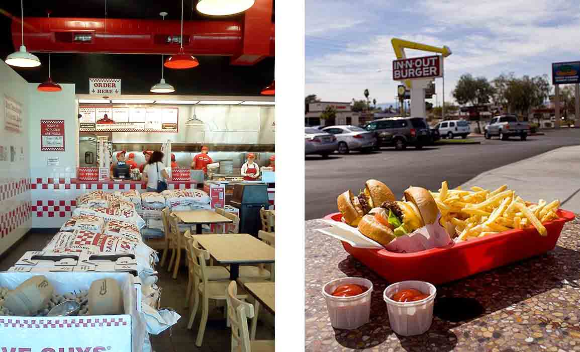 In-N-Out Five Guys