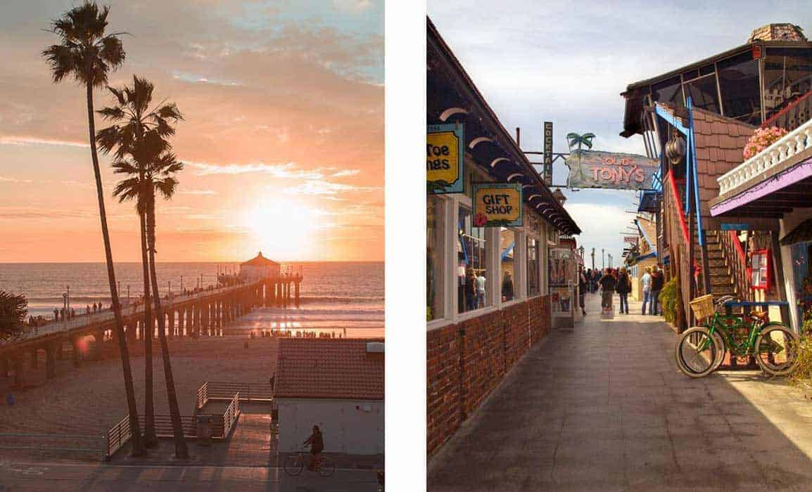 Manhattan Beach Redondo Beach