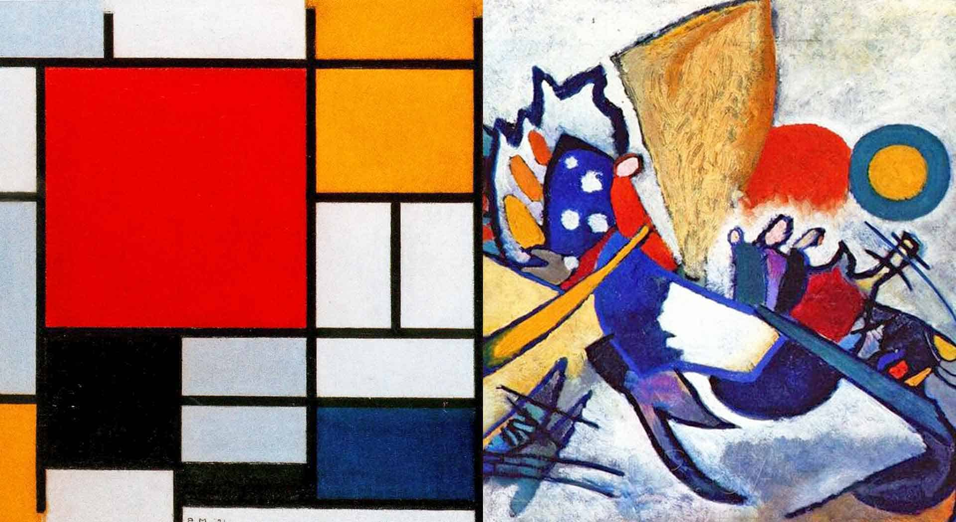 Abstract Art! Definition, Types, Characteristics e Objective | Lobo Pop Art